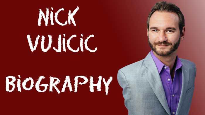 nick vujicic biography