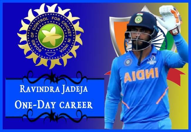 ravindra jadeja international one-day career